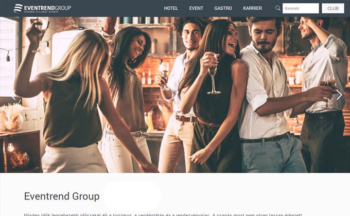 eventrend-weboldal