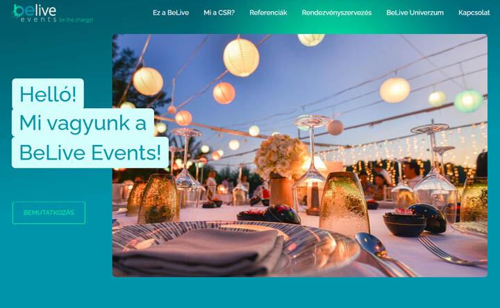 belive-events-weboldal