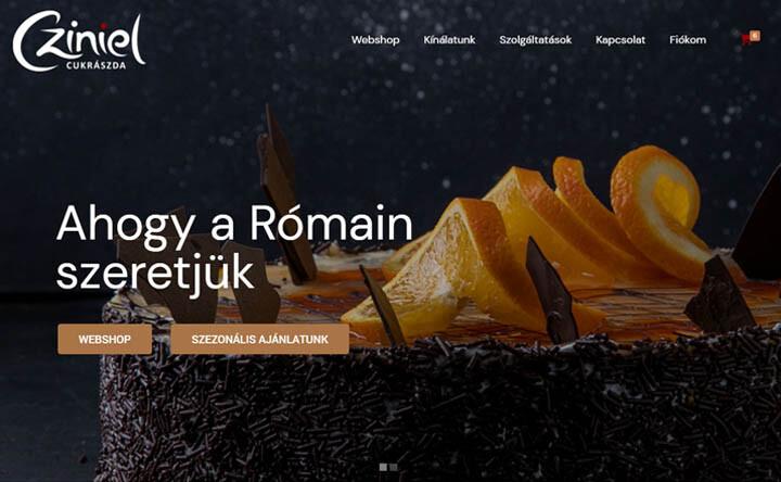 cziniel-weboldal